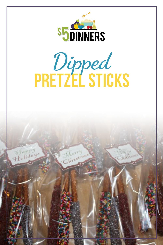 dipped pretzel sticks