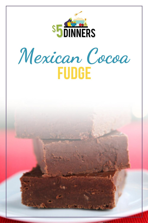 mexican cocoa fudge