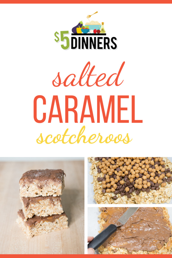 Salted Caramel Scotcheroos