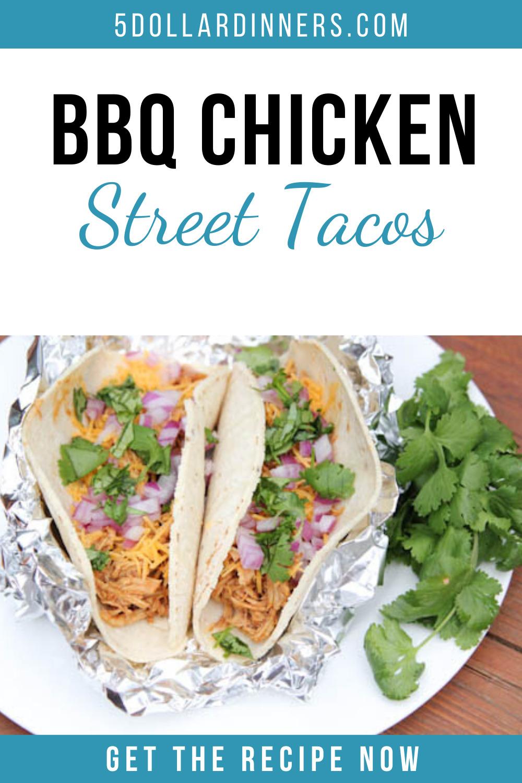 bbq chicken street tacos recipe