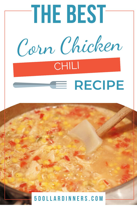 corn chicken chili