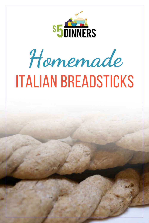homemade italian breadsticks