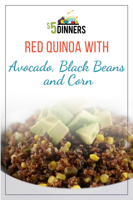 red quinoa recipe