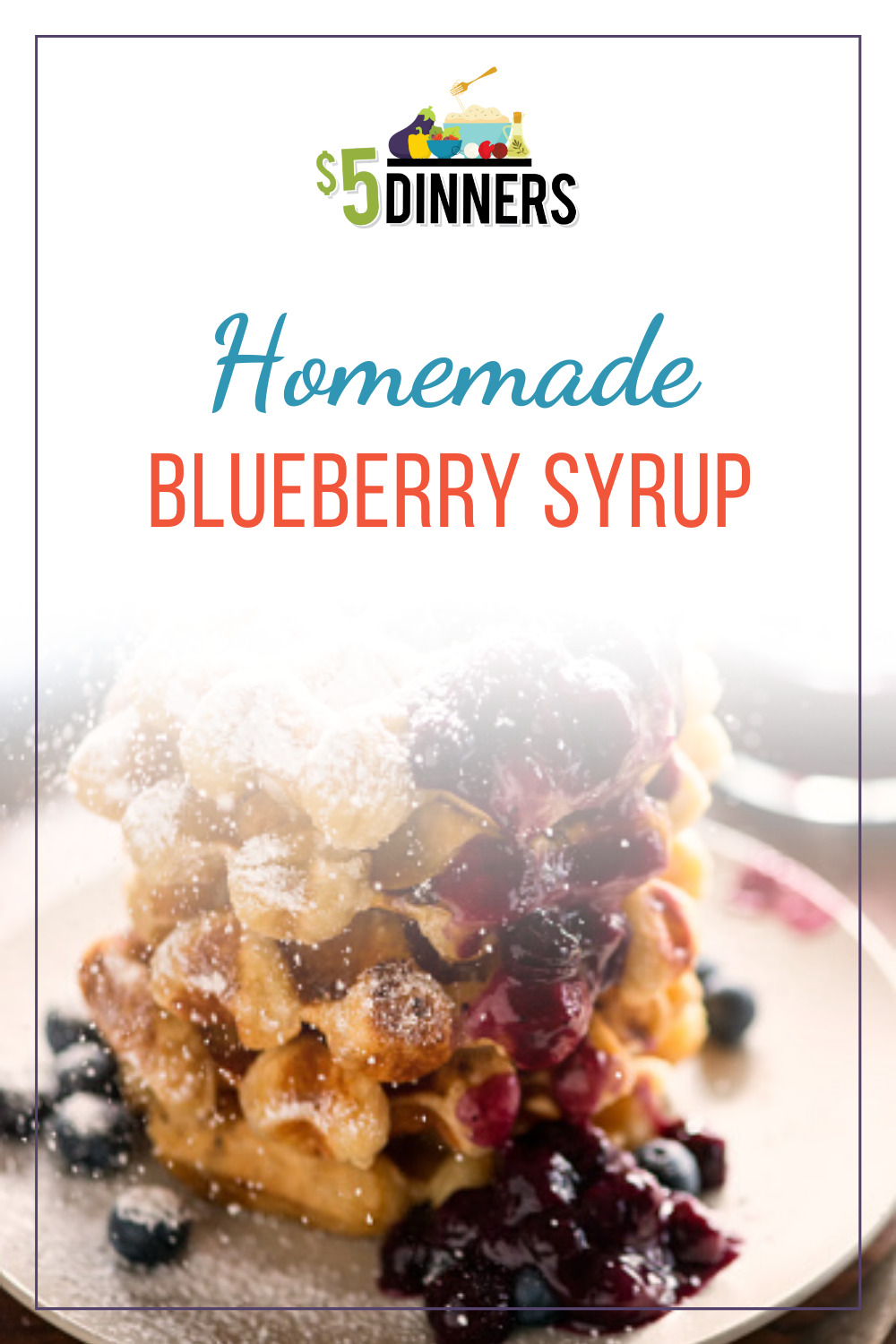 homemade blueberry syrup