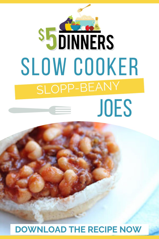 slow cooker slopp-beany joes