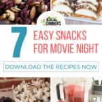 easy snacks for movie night