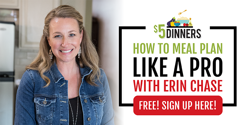 Free Meal Planning Workshop with Erin Chase