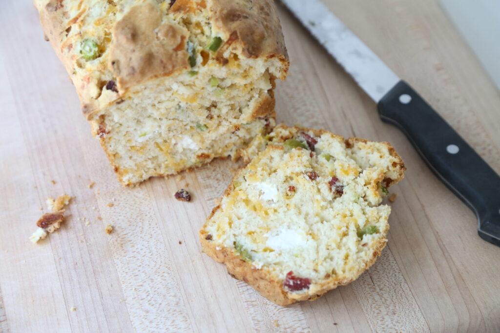 jalapeno popper quick bread