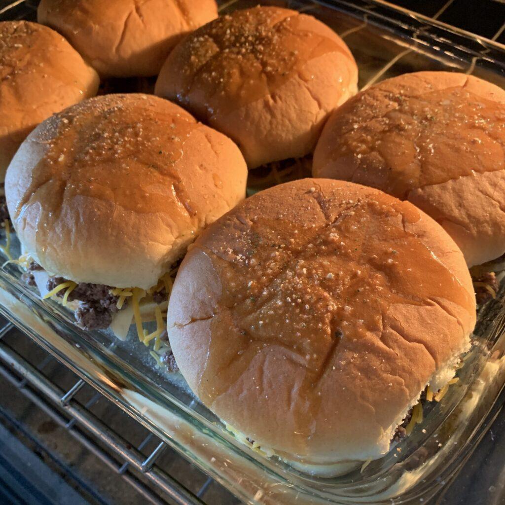 baked cheeseburgers