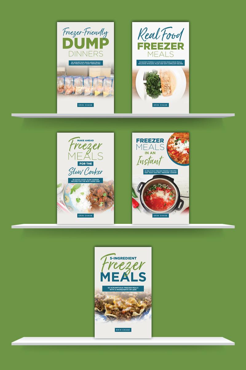 make-ahead freezer meal cookbooks