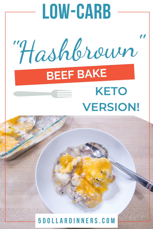 hashbrown beef bake keto