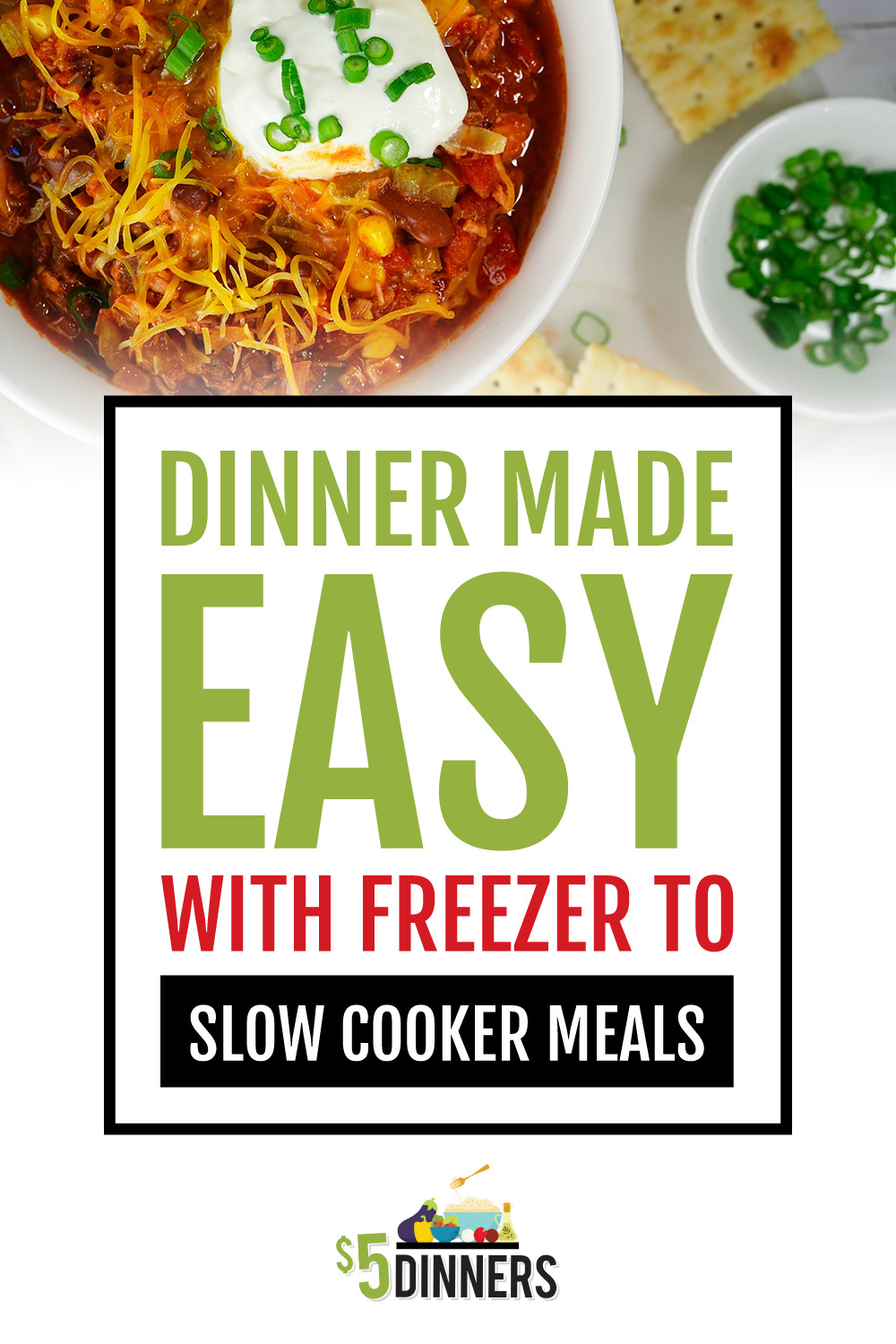 freezer to slow cooker easy dinners