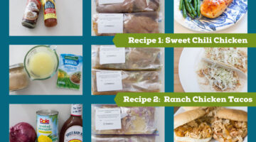 recipes for 5 ingredient challenge