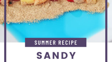 sandy beach fruit skewers