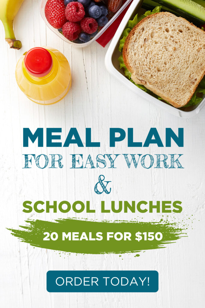 work and school lunches