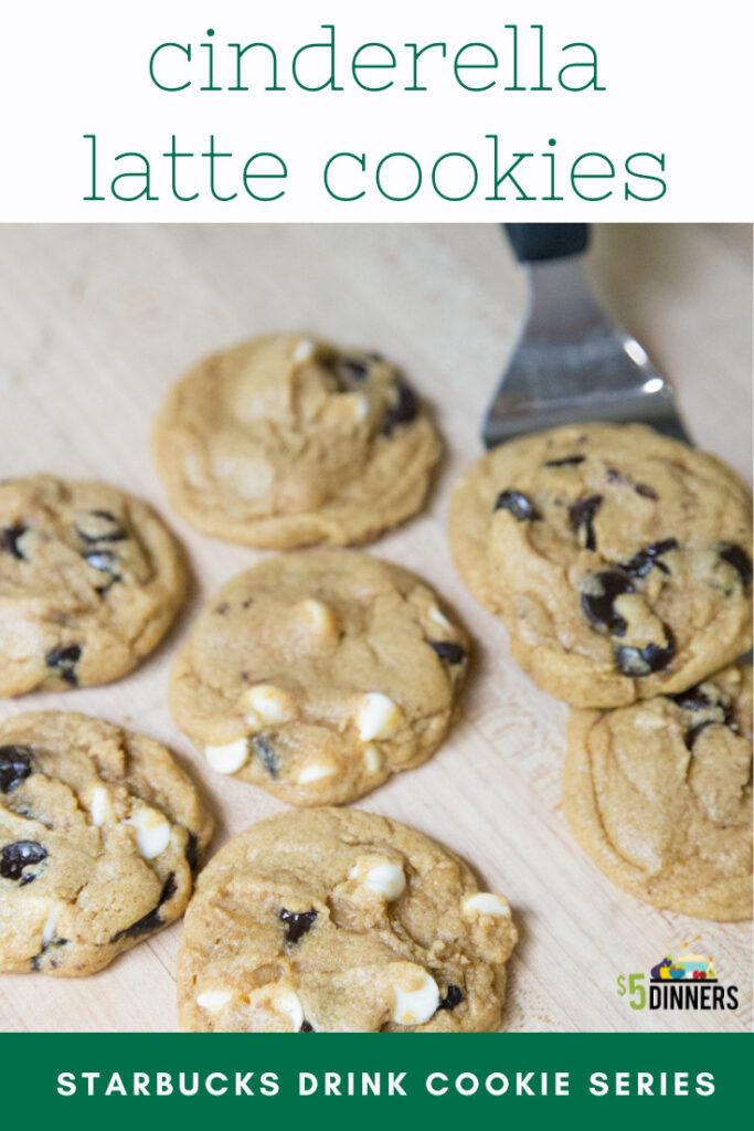 cinderella latte cookies