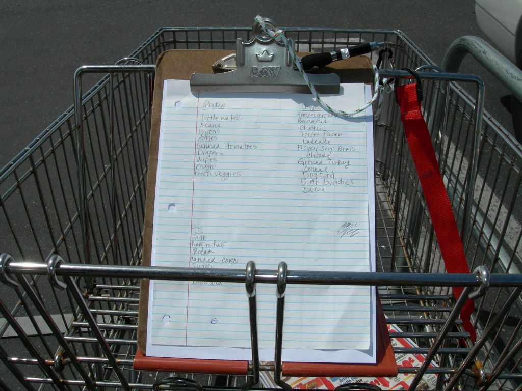 DSCN2627 1024x768 Shop Easy: Clipboard Grocery List